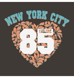 T-shirt fashion design print vector