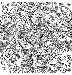 Doodle seamless vector