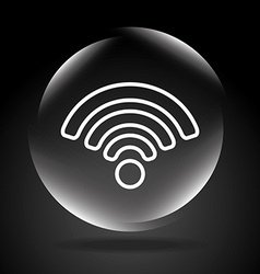 Wifi connection vector