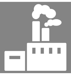 Factory icon from commerce set vector