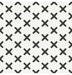 Hand drawn geometric seamless ink pattern with vector image