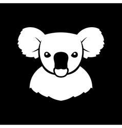 Koala Bear Sign Logo vector image