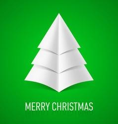 Merry christmas corner paper 10 vector