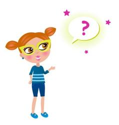 school geek child vector image vector image