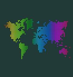 World map vector image
