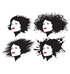 Hairstyles vector