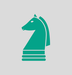 Chess horse icon vector