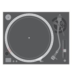 vinyl turntable vector image