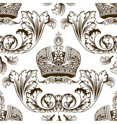 Decorative imperial design vector