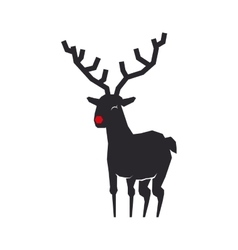 Reindeer icon animal design graphic vector