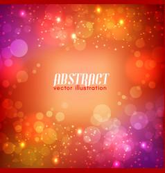 Bright abstract futuristic template vector