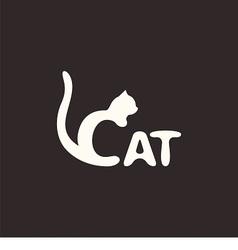 Logo cat vector