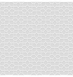Delicate grey seamless flower pattern in oriental vector