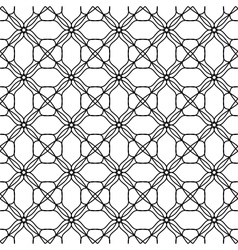 Seamless black white pattern background vector