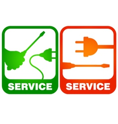 Electrical repairs vector