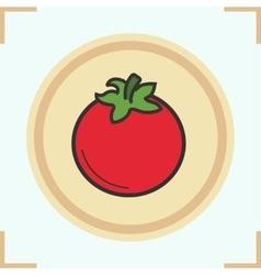 Tomato icon vector
