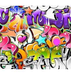 Graffiti Urban Art Background vector image
