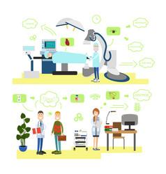 healthcare and medicine concept vector image vector image