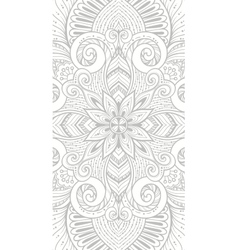 Mandala tattoo perfect card for design vector