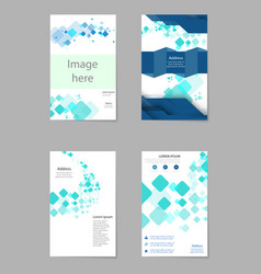Mega pack brochure design template flyer set vector