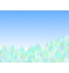 Mountain abstract triangle background vector