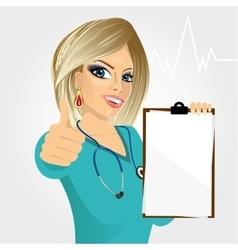 nurse doctor healthcare and medicine vector image