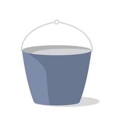 tourist bucket isolated icon vector image