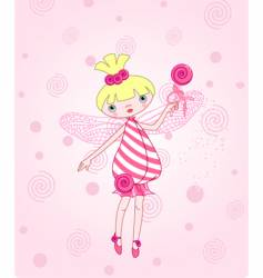 Candy fairy vector