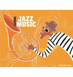 A jazz poster vector