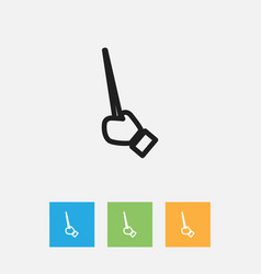 Of science symbol on pointer vector