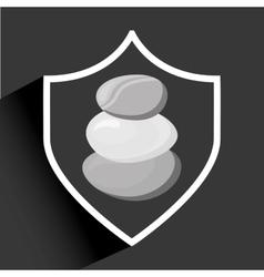 stone spa vector image