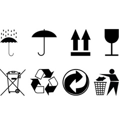 Symbols for packing subjects vector