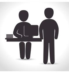 training business design vector image