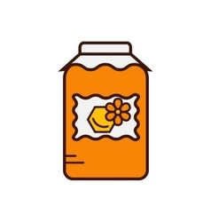 Honey product icon vector