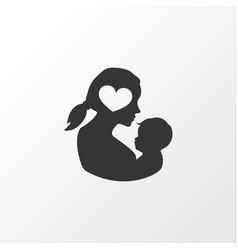 Newborn baby icon symbol premium quality isolated vector