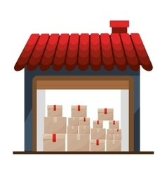 Storage cellar with multiple package vector