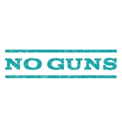 No guns watermark stamp vector