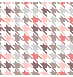 Trendy fabric pattern vector