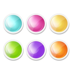 Abstract round backgrounds vector