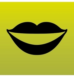 Mouth icon design vector