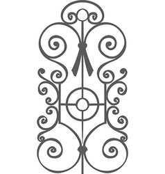 Decoration grate vector