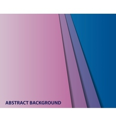 abstract geometric paper background vector image vector image