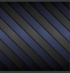 black and blue diagonal stripes background vector image vector image