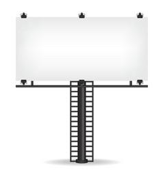Blank billboard vector