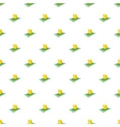 Cash money pattern cartoon style vector image vector image