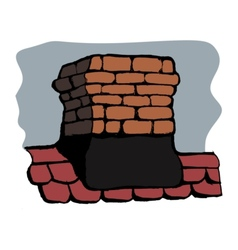 Chimney vector image vector image