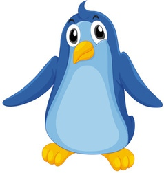 Comical penguin vector image vector image