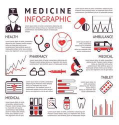 Digital black red pharmacy vector