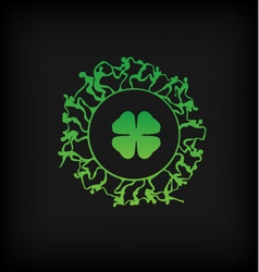 St Patricks Day Graphic vector image vector image