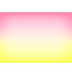 Yellow Pink Gradient Background vector image vector image